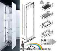 Vauth-sagel Hsa 950-2330mm Pull Out Larder Unit For 400mm Cabinet, 24hr Delivery