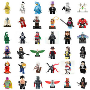 Mini-Super-Avengers-Comics-Lego-Marvel-Heroes-Building-Blocks-Toy-Figures-New