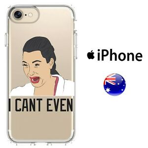 innovative design 17f6b 7dccf Silicone Case Cover Funny Kim kardashian Ugly Cry Face I can't Even ...