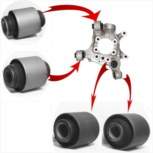 4 REAR SPINDLE KNUCKLE BUSHINGS  FOR 2006-2007 INFINITI M35 M45 ONE SIDE