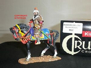 Roi et pays mk27 croisés saladin chevalier monté jouet en métal soldat