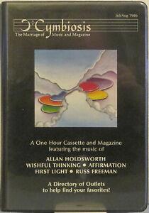 CYMBIOSIS-Vol-1-No-1-Cassette-Zine-HOLDSWORTH-Affirmation-FIRST-LIGHT-R-Freeman
