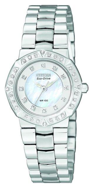 Citizen Women's EP5830-56D Eco-Drive Serano Sport Diamond Accented... SHIPS FREE
