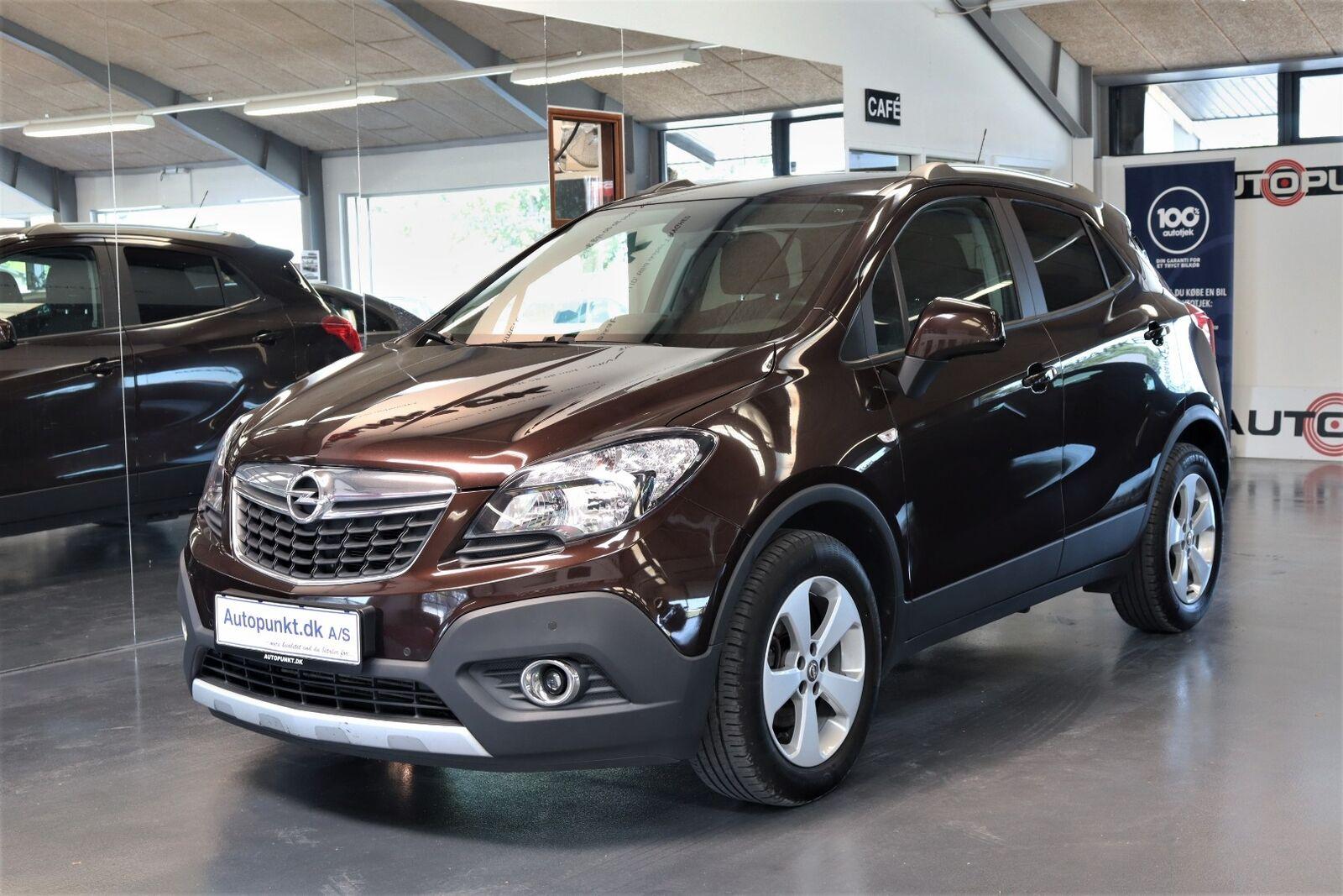 Opel Mokka 1,6 CDTi 136 Enjoy 5d - 149.700 kr.