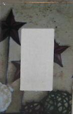 PRIMITIVE COUNTRY BARN STAR ROCKER PLATE COVER  Single GFI Cover