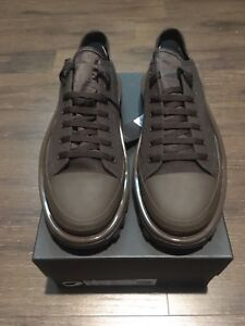 reputable site d2a59 c949f Image is loading adidas-raf-simons-RS-DETROIT-RUNNER-Brown-sz-