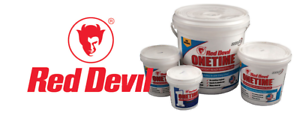 Red Devil Onetime Interior & Exterior Ready Mixed Lightweight Filler All Sizes