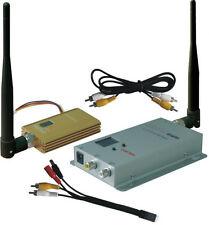 900Mhz FPV System 1500mW Wireless AV Video Transmitter and Receiver 0.9G Tx Rx