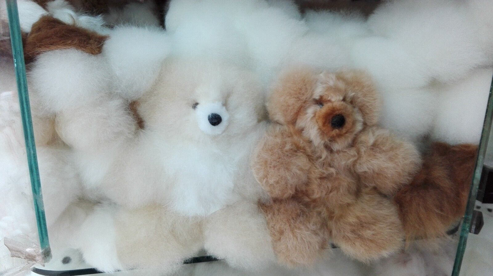 Lot of 40 100% Baby Alpaca Fur Teddy Bear 7   (FREE SHIPPING) WE HAVE STORE