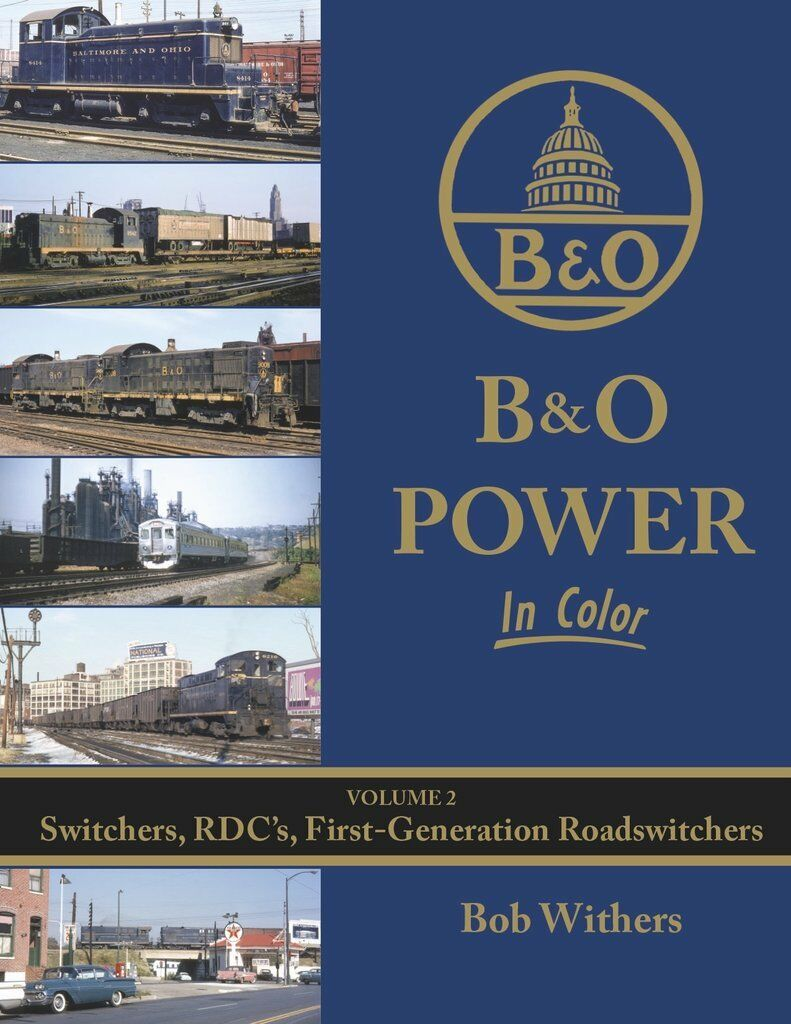 B&o Potenza in Colore, Vol. 2 - Switchers, Rdcs , First-Generation Roadswitchers
