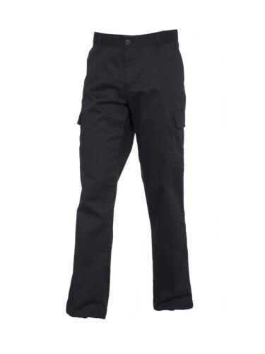 Ladies Womens Workwear Trousers Cargo Combat Action Black Navy lot UK UC905