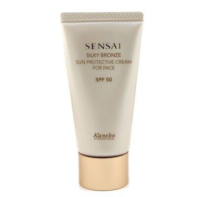 Kanebo Sensai Silky Bronze Sun Protective Cream For Face SPF 50 50ml Sun Care