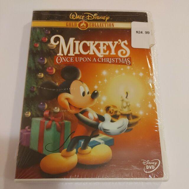 Mickeys Once Upon a Christmas (DVD, 2003, Gold Collection Edition) Brand New b23