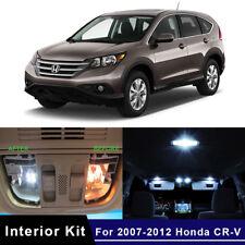 2012-2014 Honda CR-V CRV High Power White LED Light Bulbs Interior Package Kit