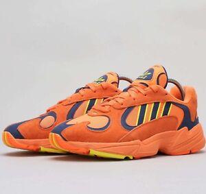 1e746069a6f7 Adidas Yung-1 Orange Shock Yellow Navy GOKU B37613 Yung 1 Mens Shoes ...