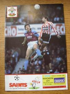 26121990 Southampton v Manchester City  No Apparent Faults - Birmingham, United Kingdom - Returns accepted within 30 days after the item is delivered, if goods not as described. Buyer assumes responibilty for return proof of postage and costs. Most purchases from business sellers are protected by the Consumer Contr - Birmingham, United Kingdom