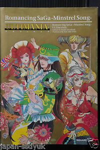 Details about Romancing SaGa Minstrel Song Ultimania Square Art book