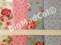 Ikea Cath Kidston Rosali Floral Dots fabric material shabby chic