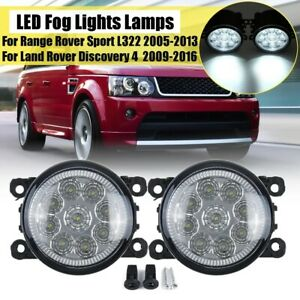 Frente-LED-Luz-Antiniebla-Lamparas-Para-Land-Rover-Discovery-4-Range-Sport-L322