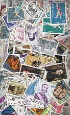 1000 + francobolli mondiali diversi OFF carta, Misto paesi e epoche.
