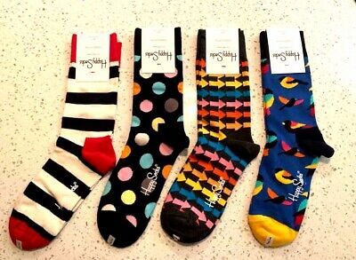 Authentic Happy Socks 3 Paire assorties motifs Taille 9-11