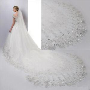 Hochzeit-Brautschleier-Schleier-Braut-weiss-od-creme-weiss-ivory-4-x1-5-Meter-C035
