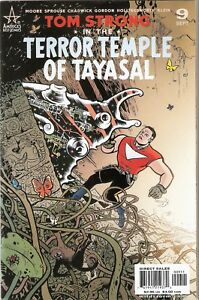 Tom-Strong-in-the-Terror-Temple-of-Tayasal-No-9-Tintin-Typeface-Cover-2000