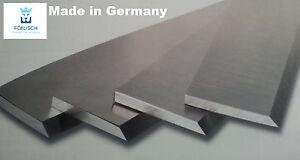 2 Stück Streifenhobelmesser 630 x 30 x 3mm HSS Guhdo 18/% Wolfram Hobelmesser