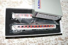 "SH L.S. Models 79  046 ""City Night Line / DB AG"" Set 2x RuhesitzwagenSp N"