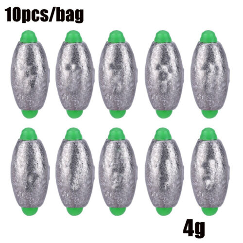 Sinkers Additional Weight Sinker Fishing Lead fall Olive Shaped  Hook Connector