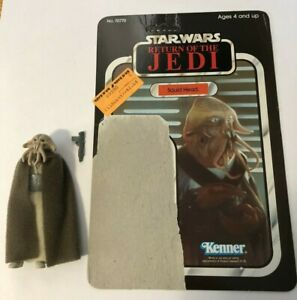 Star-Wars-Vintage-Squid-Head-COMPLETE-with-65A-cardback-UNPUNCHED-AND-UNCUT