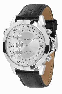 """Armband- & Taschenuhren Zuversichtlich Sk Shop 1.229 € · """"refugio Black Russian"""" Platin & Diamanten Vertical Chrono"""