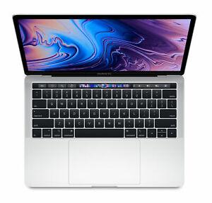 Apple-MacBook-Pro-TouchBar-13-034-i5-8th-Gen-3-8GHz-8GB-256-GB-Silver-2018-A-Grade