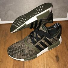 newest collection 9f2e1 6c7aa Adidas NMD R1 PK AI Camo Olive Cargo CQ1864 Mens Shoes Size 9.5 New (1