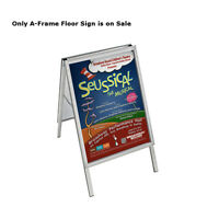 Retail 22w X 28h Indoor/outdoor Snap Open Frame Two-sided A-frame Floor Sign