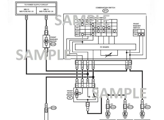 Subaru Legacy And Outback 2010 Wiring Diagram Schematic