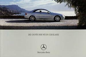 Mercedes-CLK-Coupe-2002-8-02-brochure-prospectus-broschyr-240-320-500-55-AMG-PKW