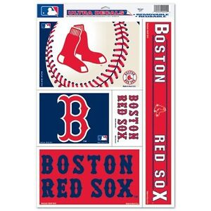 Boston-Red-Sox-Official-MLB-11-inch-x-17-inch-Car-Window-Cling-Decal-by-Wincraft