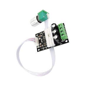 6V 12V 24V 28V 3A PWM DC Motor Speed Controller Module With Switch 1203BKW Neu
