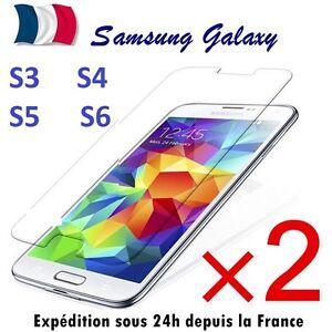 2-x-Verre-Trempe-Film-de-protection-d-039-ecran-pour-Samsung-S3-S4-S5-S6