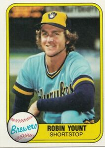 """Milwaukee Brewers """"ROBIN YOUNT"""" HOF Lot of (6) Free Shipping $$$ to Charity"""