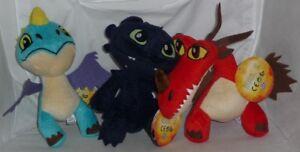 Peluche Dragon Trainer Drago 20cm Scelta Personaggio Dragons Originale Ufficiale