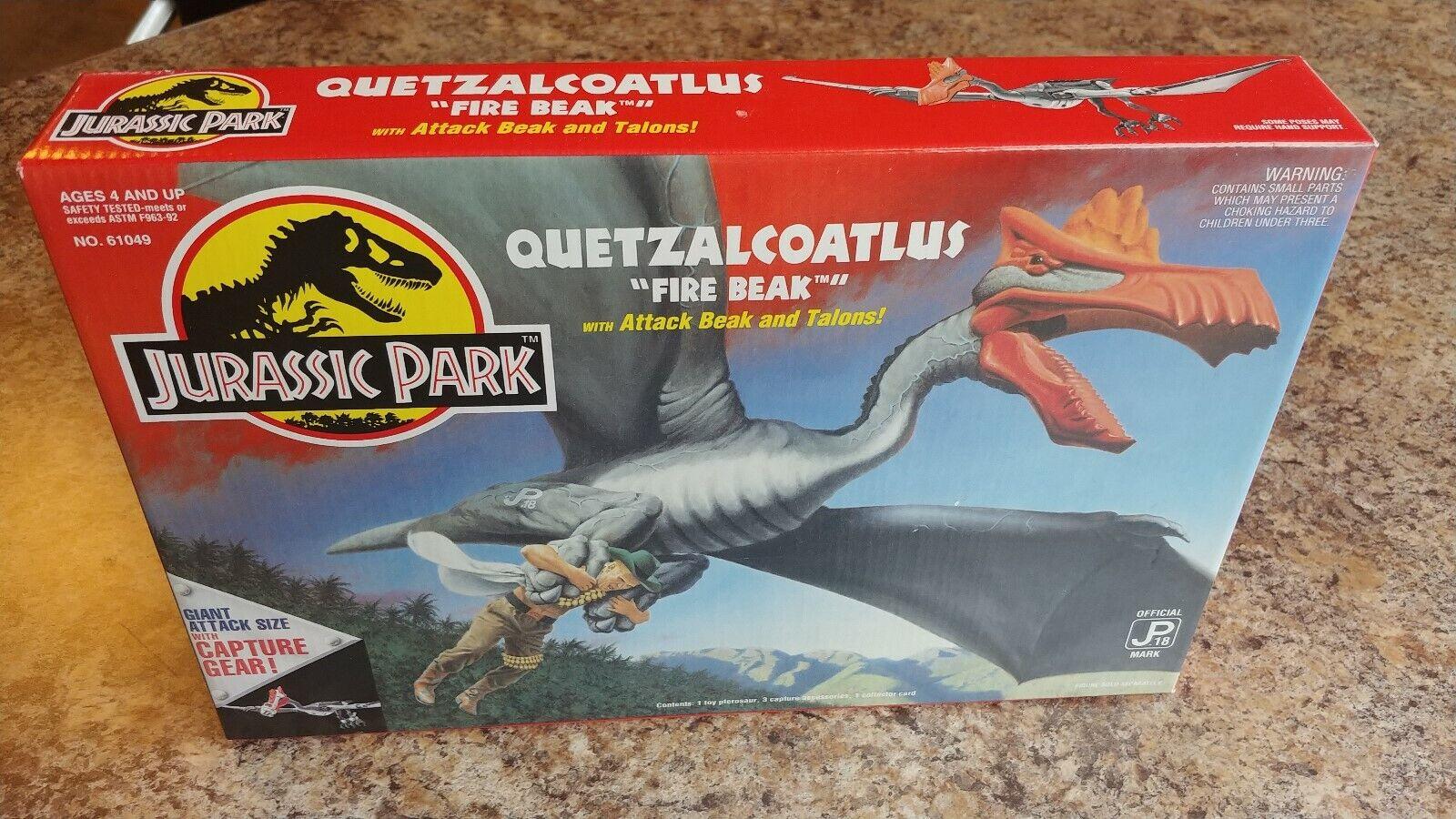 Kenner 1993 Jurassic Park QUETZALCOTLUS, förseglad i låda RARE