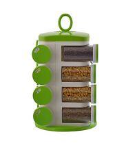 Multipurpose Revolving Spice Rack | Rotating Masala Rack | Condiment 16 Set Pcs