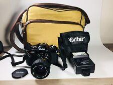 vivitar v2000 camera 35mm strap 1900 electronic flash lens bundle ebay rh ebay com Vivitar v4000s Vivitar 220 SL