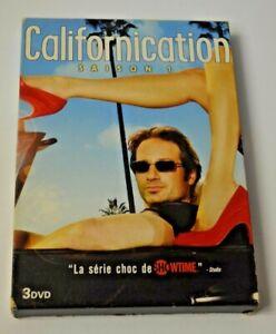 COFFRET 3 DVD CALIFORNICATION INTEGRALE SAISON 1 SERIE