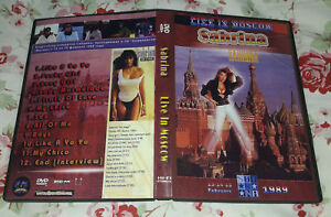 Sabrina Salerno -  Live Moscow 89 DVD (SPECIAL FAN EDITION)
