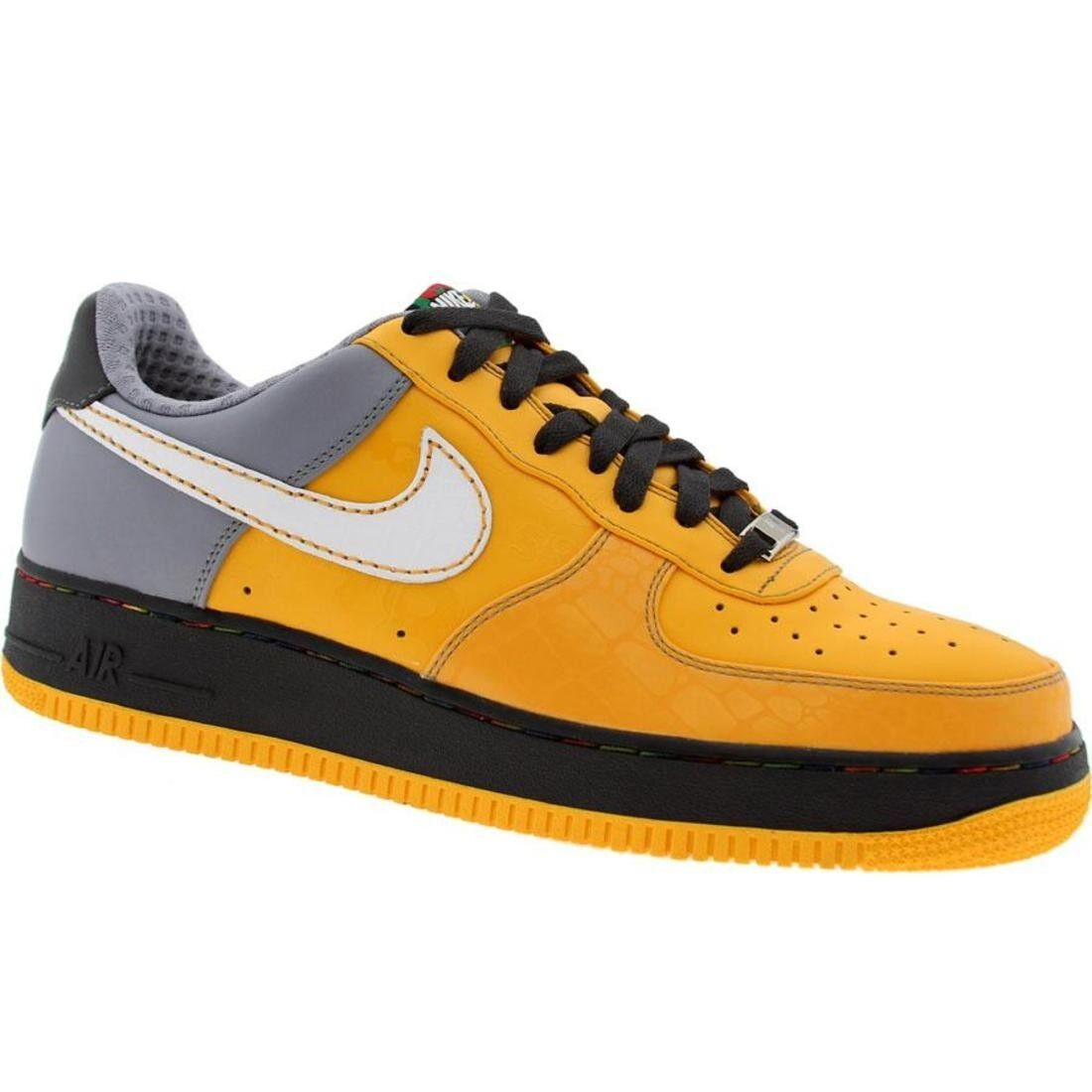 315180-711 Nike Men Air Force 1 07 Low Premium New York City Edition (pro gold