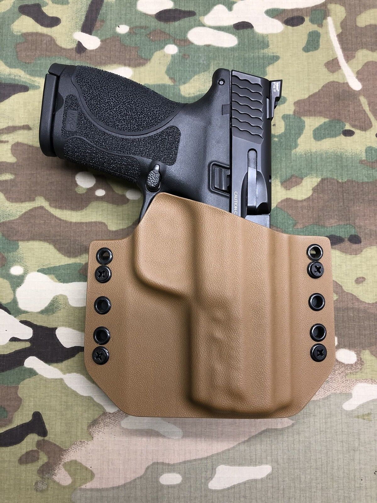 Coyote Tan Kydex Holster for M&P 2.0c Compact