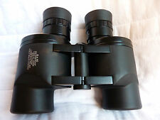 Military Grade Waterproof 8x40 Porro Prism Binocular With Reticle & Leather Case